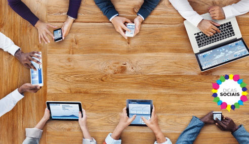 A diferença entre mídia social e rede social